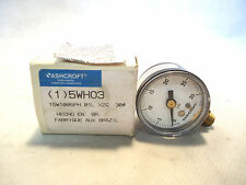 NEW IN BOX ASHCROFT 5WH03 15W1005PH GAUGE