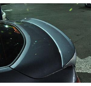 Rear Lip Trunk Spoiler RB5 Black for 2010 2016 Hyundai Genesis Coupe