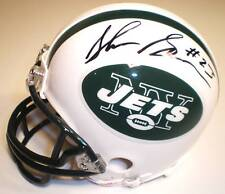 Shonn Greene Autographed Jets Riddell Mini Helmet
