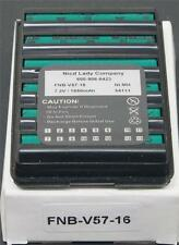 NICAD LADY FNB-V57 7.2V 1600MA NI-MH BATTERY PACK YAESU VX150 VX160 VX180 VX400