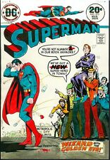 Superman 273 COVER ART WIZARD RULES METROPOLIS 1973 DC PAINTING Cardy Adler COA