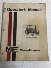 Used Vintage Massey Fergusson MF-245 Tractor Operator's Manual