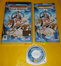 TALES OF THE WORLD RADIANT MYTHOLOGY Psp Versione Italiana 1ª Ed ○○○○○ COMPLETO
