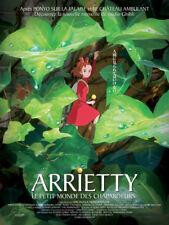 ARRIETTY Petit monde des Chapardeurs Affiche Cinéma Movie Poster STUDIO GHIBLI