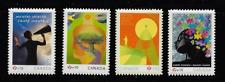 Canada Semi-Postal Stamps — Set of 4 — 2008-2011, Mental Health #B14-B17 — MNH