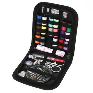 70Pcs Home Travel Thread Threader Needle Tape Measure Scissor Sewing Kit