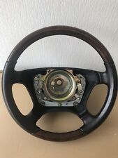Mercedes wood&leather steering wheel W201 W202 W210 W124 W140