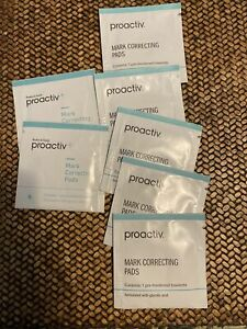 Proactiv Acne Body Wipes 7 Packets Dark Spot Fading Mark Correcting Pads New