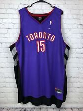 Vince Carter Baloncesto para Adultos Ropa Deportiva Entrenamiento Sin Mangas Unisex,Purple-S Summer NBA Sports Uniformes ZZH NBA Toronto Raptors #15