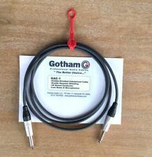 Gotham GAC-1 Instrument Cable Assemblies 6ft Grey