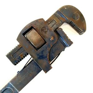 Vintage new britain SW-24 Wrench Adjustable Drop Forged, Pipe, Monkey Wrench USA