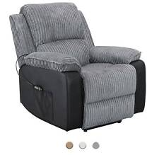 Westwood tessuto ELECTRIC Divano Reclinabile in finta pelle sedia poltrona Lounge Cinema