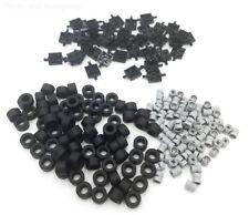 LEGO Roues Ensemble 200 pièces - 40 assiettes/essieux - 80 Pneus - 80 Roues-Neuf