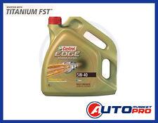 4 LITRI OLIO MOTORE CASTROL EDGE 5W40 TITANIUM LONGLIFE 04 VW 504.00 MB 229.31