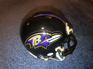 Baltimore Ravens Authentic Style (Metal Mask) Mini Football Helmet