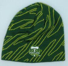 227cf184a62 MLS Portland Timbers Adidas Cuffless Winter Knit Hat Cap Beanie Style   KR76Z NEW