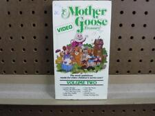 VHS Video Tape The Mother Goose Treasury Video Volume Two 2