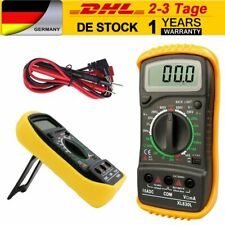Digital Multimeter Messgerät Voltmeter Strom AC/DC Multi Tester Messen DE DHL