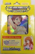 Bushiroad: Weiss Schwarz Idolm@ster Cinderella Girls - Power Trial Deck