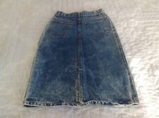 Vintage Acid Wash Denim Skirt Size 7