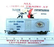 HO CUSTOM LETTERED US MAIL PONY EXPRESS COLLECTIBLE FREIGHT CAR REEFER LOT C