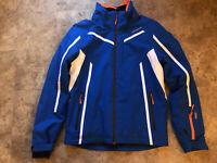 Icepeak Skijacke Gr.S 48 in blau mit weiss u. orange, gebraucht