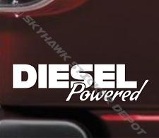 Diesel Powered Bumper Sticker Vinyl Decal Coal Roller Diesel Truck For Ford F150