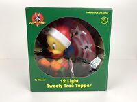 Looney Tunes Tweety Tree Topper 12 Light Tweety Bird Colorful Fun Accent + Box