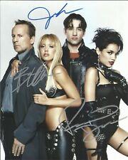 Sin City Cast (B. Willis, J. Alba & R. Dawson Autographed 8 x 10 Photo With Coa