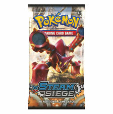 Steam Siege Rare Pokémon Individual Cards with Holo