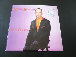 """MARC ALMOND..LOVE LETTERS POSTER EDITION..UK ROCK POP NEW WAVE 7"""" SINGLE 45 RPM"""