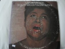 MAHALIA JACKSON SINGS AMERICA'S FAVORITE HYMNS DOUBLE VINYL LPS ROCK OF AGES EX