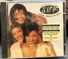 SWV NEW BEGINING CD 1996 RCA 66487 HYPE STICKER SEALED