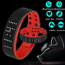 Smart Heart Rate Bracelet Sports Fitness Tracker Waterproof Android IOS Watch US