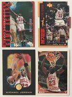 1993-1999 Upper Deck, Topps Gold, Skybox Michael Jordan Basketball Card Lot of 4