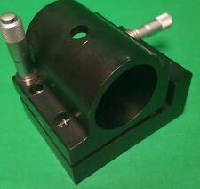 Newport 811 Adjustable Cylindrical / Tube / HeNe Laser Mount, sim. to ULM-TILT-M
