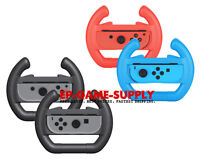 2 Pack For Nintendo Switch Joy-Con Racing Steering Wheel Controller Handle Grips