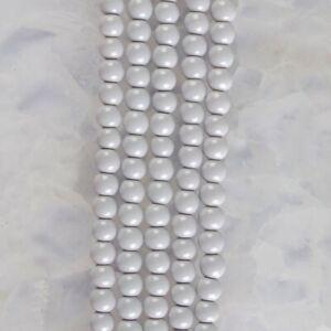 "HP1261-e 4mm Baked Porcelain Glass Ball Loose beads 16"""