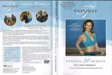 DVD: PHYSIQUE 57 NEW YORK WITH TANYA BECKER EXPRESS 30 MINUTE WORKOUT