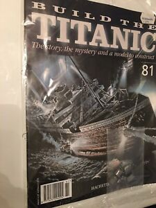 1/250 Hachette Build The Titanic Model Ship Issue 81 Inc Part Pictured.