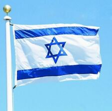 3x5 feet ISRAEL National FLAG Jewish Star Magen David Israeli Country Banner