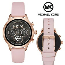 Michael Kors Access Runway 41 mm Smart Watch Women's Rose Gold Iphone Android