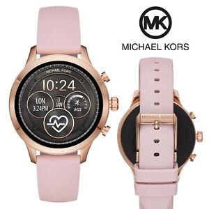 Michael Kors Smartwatch Access Runway 41 mm Women's Rose Gold Fitness Tracker