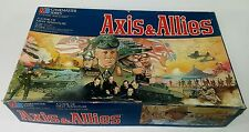 Vintage 1984 Axis & Allies Strategy War Board Game Master Series, Milton Bradley