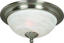 Satin Nickel Flush Mount Ceiling Light #543942