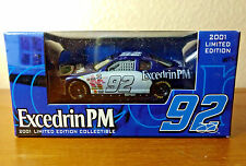 Jimmie Johnson 2001 Excedrin PM #92 Diecast 1:64 Limited Edition