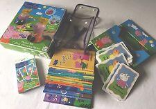 Peppa Pig Bundle - 9 Libros En Mochila, tarjetas de imagen gigante, Kit de Yeso Craft