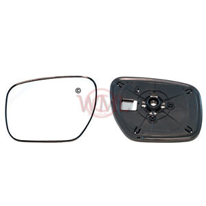 MAZDA CX-7 2007->2013 DOOR / WING MIRROR GLASS, HEATED WITH BASE PLATE,LEFT SIDE