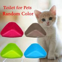 Pet Corner Toilet Litter Tray Box for Cat Mouse Rat Rabbit Hamster Small Animal