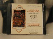 ALESSANDRO STRADELLA - CANTATA PER IL SANTISSIMO NATALE CD COME NUOVO LIKE NEW
